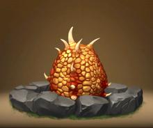 Fireworm Princess Egg