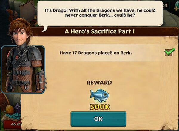 A Hero's Sacrifice Part I