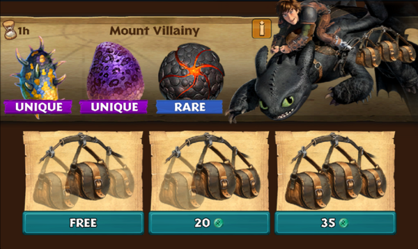 Mount Villainy (Rumpus & Winged Warden)