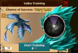 Exiled Stormcutter Valka First Chance