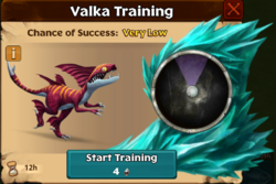 Sweet-Sting Valka First Chance