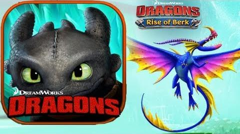 Dragons Rise of Berk - Exclusive new Dragon - Dazzlesing + Valka Training