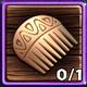 P Wood Comb
