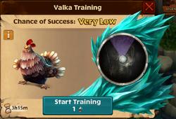 Chicken Valka First Chance