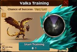 Goldrush Valka First Chance