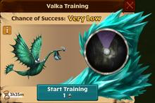 Battle Scauldron Valka First Chance