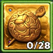Grim Gold Gold Pin
