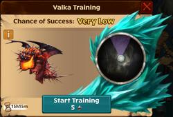Champion Catastrophic Quaken Valka First Chance
