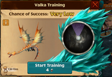 Threadtail Valka First Chance