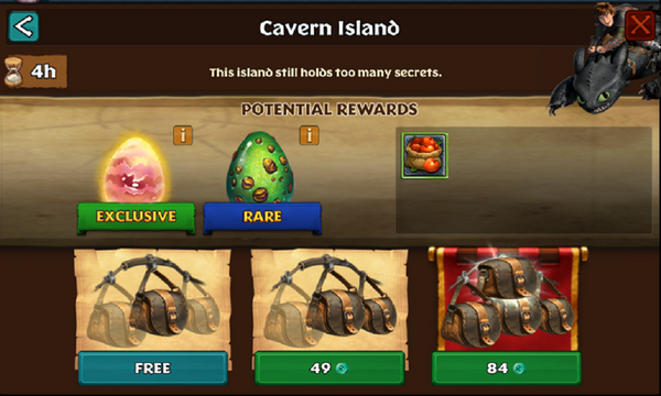 Cavern Island (Edgewing)