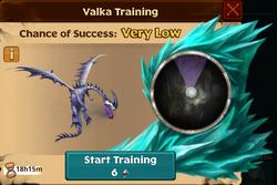 Retired Windstriker Valka First Chance