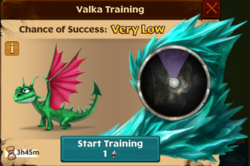 Garden Dragon Valka First Chance