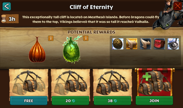 Cliff of Eternity