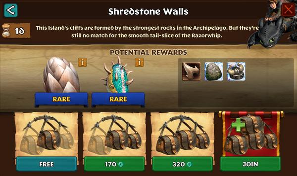 Shredstone Walls