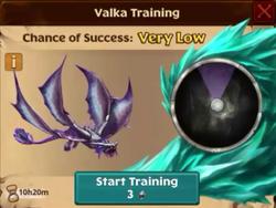 Battle Stormcutter Valka First Chance