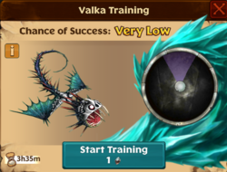 Battle Whispering Death Valka First Chance