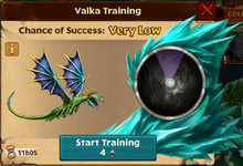 Fireworm Princess Valka First Chance