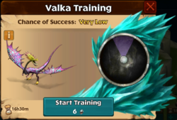 Gruff Valka First Chance
