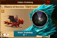 Sacred Terror Valka First Chance