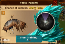 Soaring Sidekick Valka First Chance