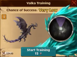 Razorwhip Valka First Chance