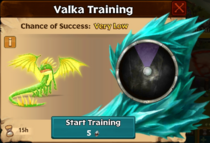 Royal Fireworm Valka First Chance