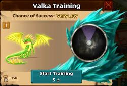 Royal Fireworm Valka First Chance