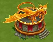 Fireworm Princess Statue Lv 5