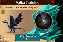 Chillblade Valka First Chance