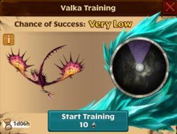 Cagecruncher Valka First Chance