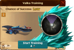 Toothless Valka First Chance