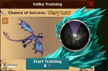 Battle Scuttleclaw Valka First Chance