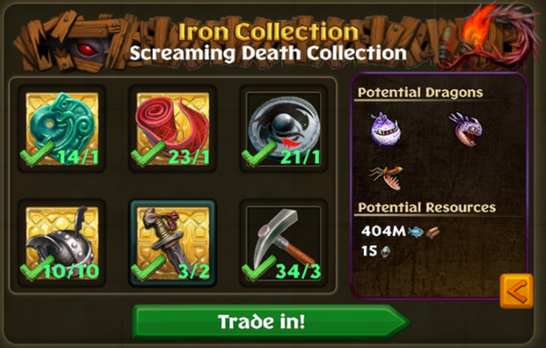 Screaming Death Potential Collections