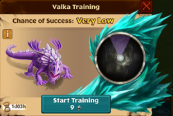 Frozen Groncicle Valka First Chance