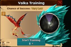 Grim Slipsmolder Valka First Chance