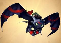 Trekking Toothless - costume