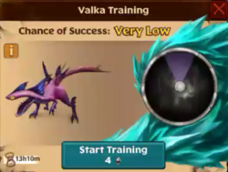 Speed Stinger Valka First Chance