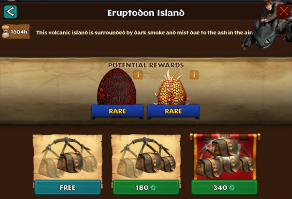 Eruptodon Island