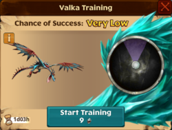 Hookfang's Mate Valka First Chance