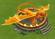 Fireworm Princess Statue Lv 3