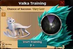 Light Fury Valka First Chance