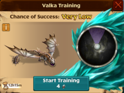 Battle Woolly Howl Valka First Chance