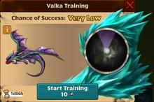 Exotic Egg Biter Valka First Chance