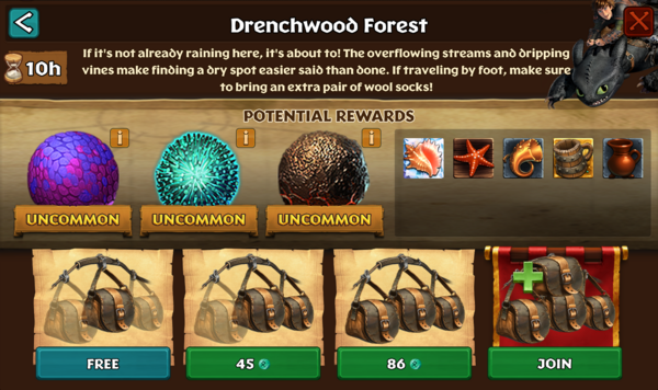 Drenchwood Forest