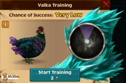 Cockatrice Valka First Chance