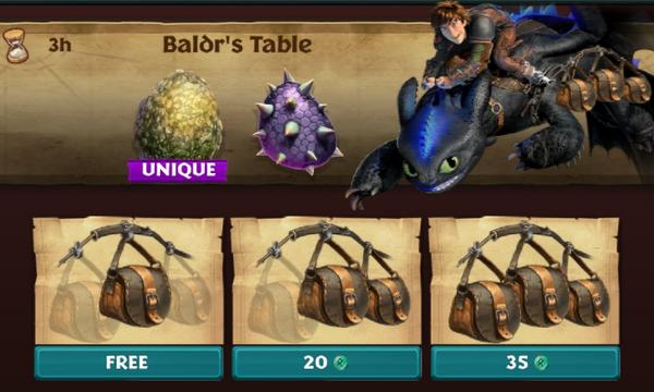 Baldr's Table (Meatlug's Mate)