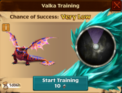 Exotic Shovelhelm Valka First Chance