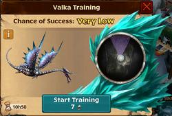 Battle Raincutter Valka First Chance