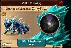 Silkspanner Valka First Chance