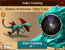 Alpha Speed Stinger Valka First Chance